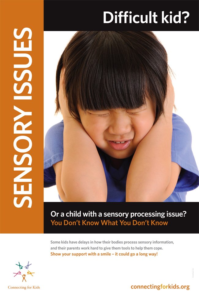 Sensory Issues Poster