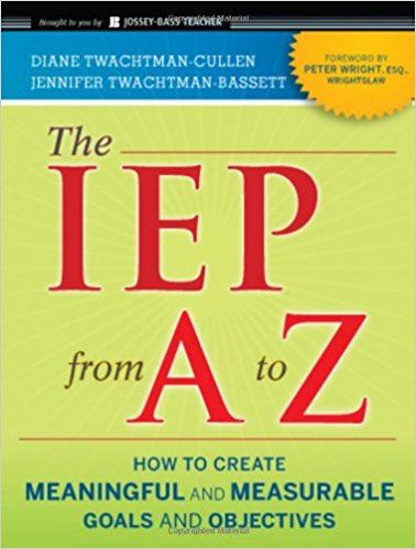The IEP from A to Z book cover