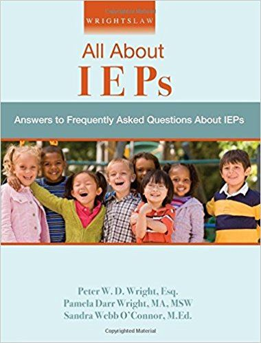 All About IEPs book cover