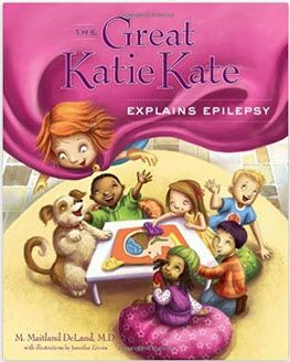 The Great Katie Kate Explains Epilepsy book cover