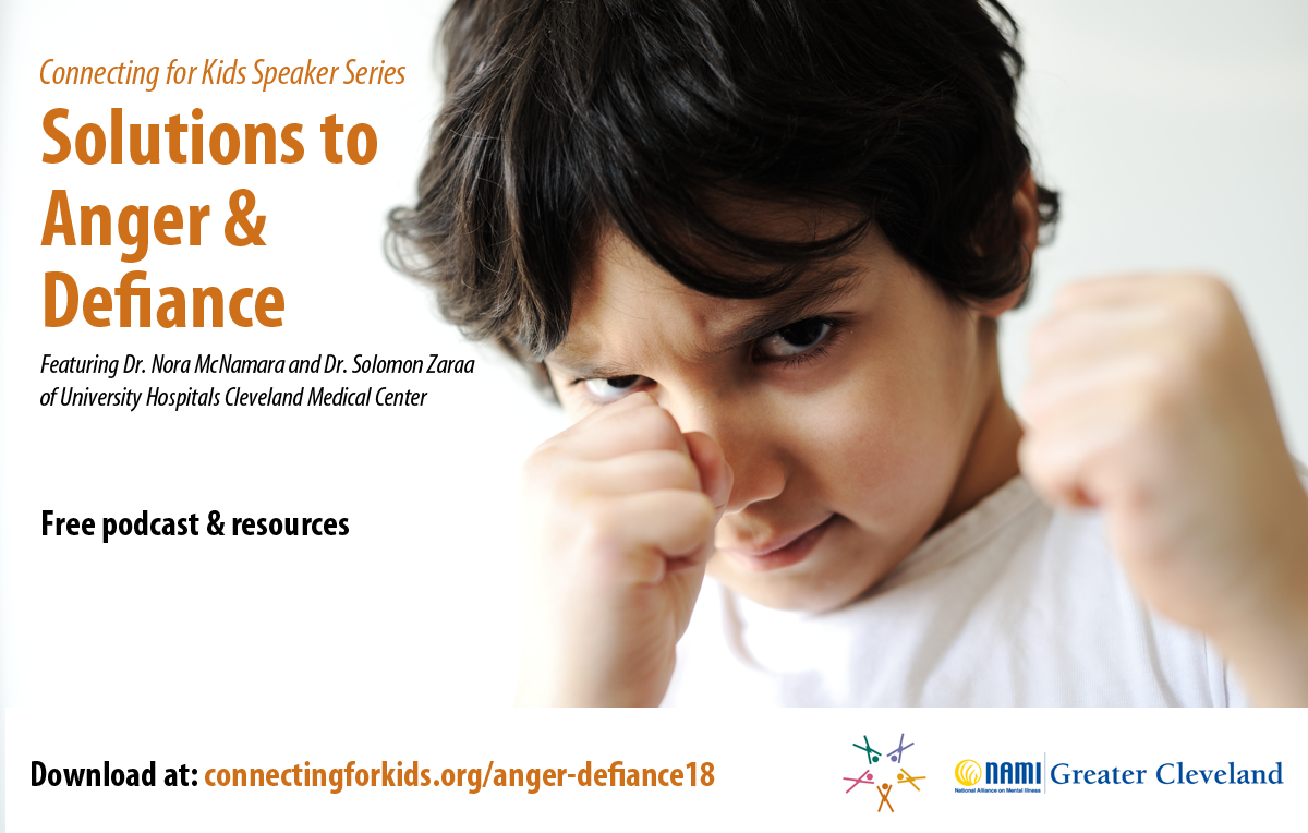 Solutions to Anger & Defiance Free podcast from Connecting for Kids