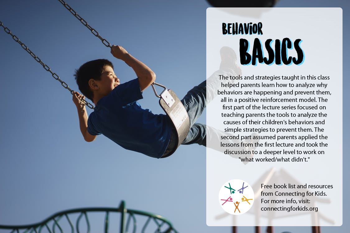 Behavior Basics | Free book list and resources from Connecting for Kids