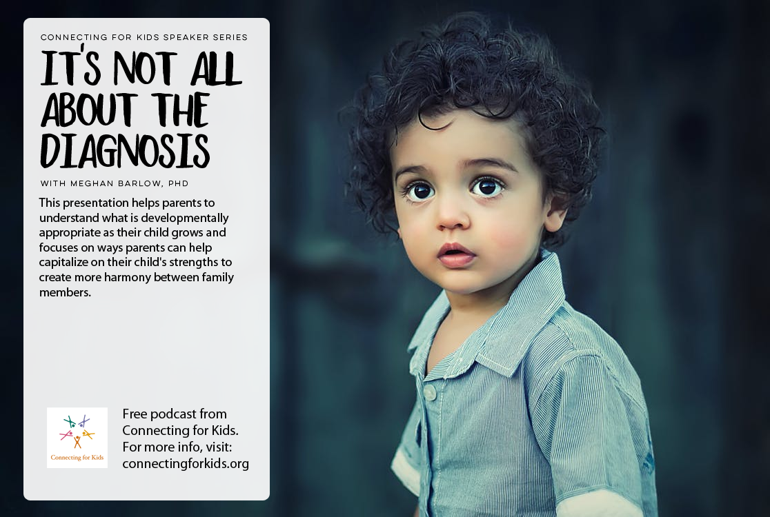 It's NOT All About The Diagnosis Free Podcast from Connecting for Kids