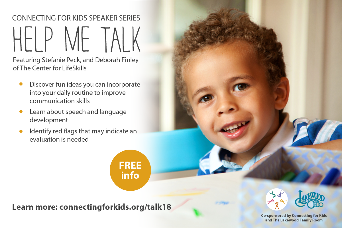 Free Resources on Speech and Language Development from Connecting for Kids