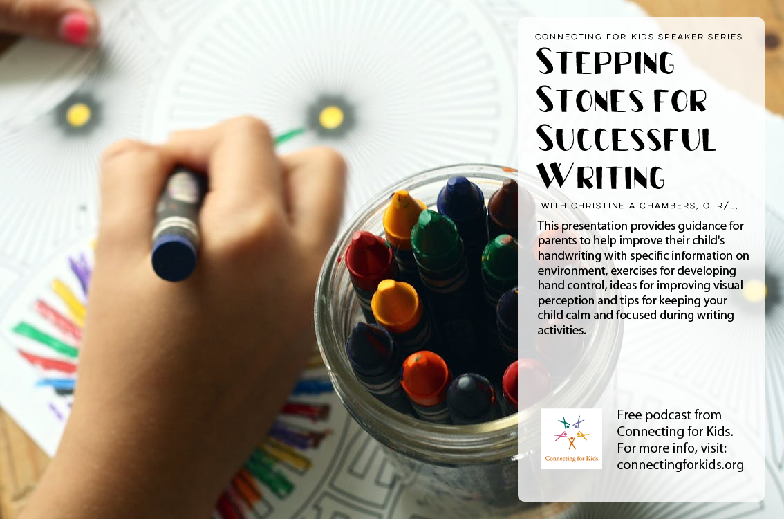 Stepping Stones for Successful Writing Free podcast from Connecting for Kids
